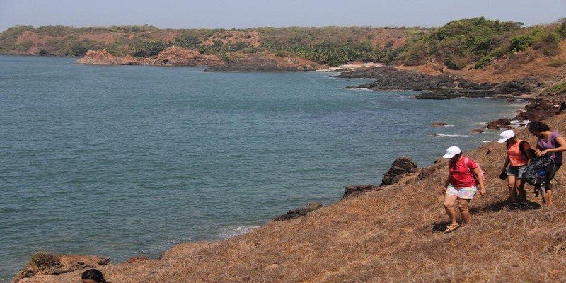 Trek to Neuti Beach Goa