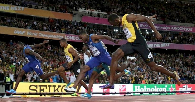 400 m race