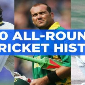 List of Top 10 All Rounders in Cricket History