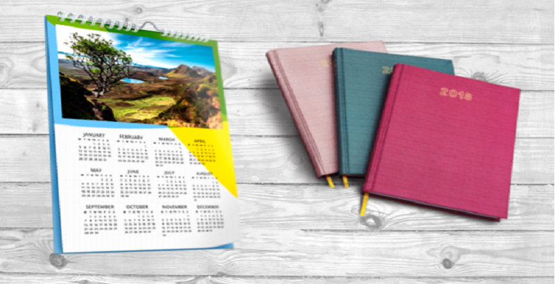 Diaries and Calender