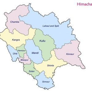 List of Himachal Pradesh Districts by Area