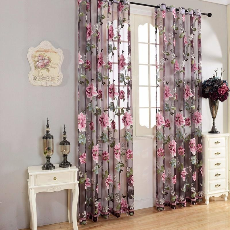 Curtains for living room decoration