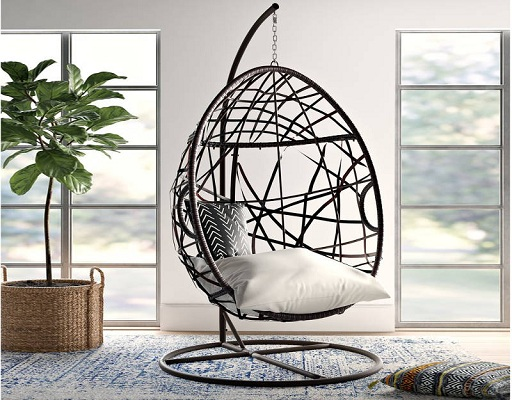 Swings chair for living room decoration