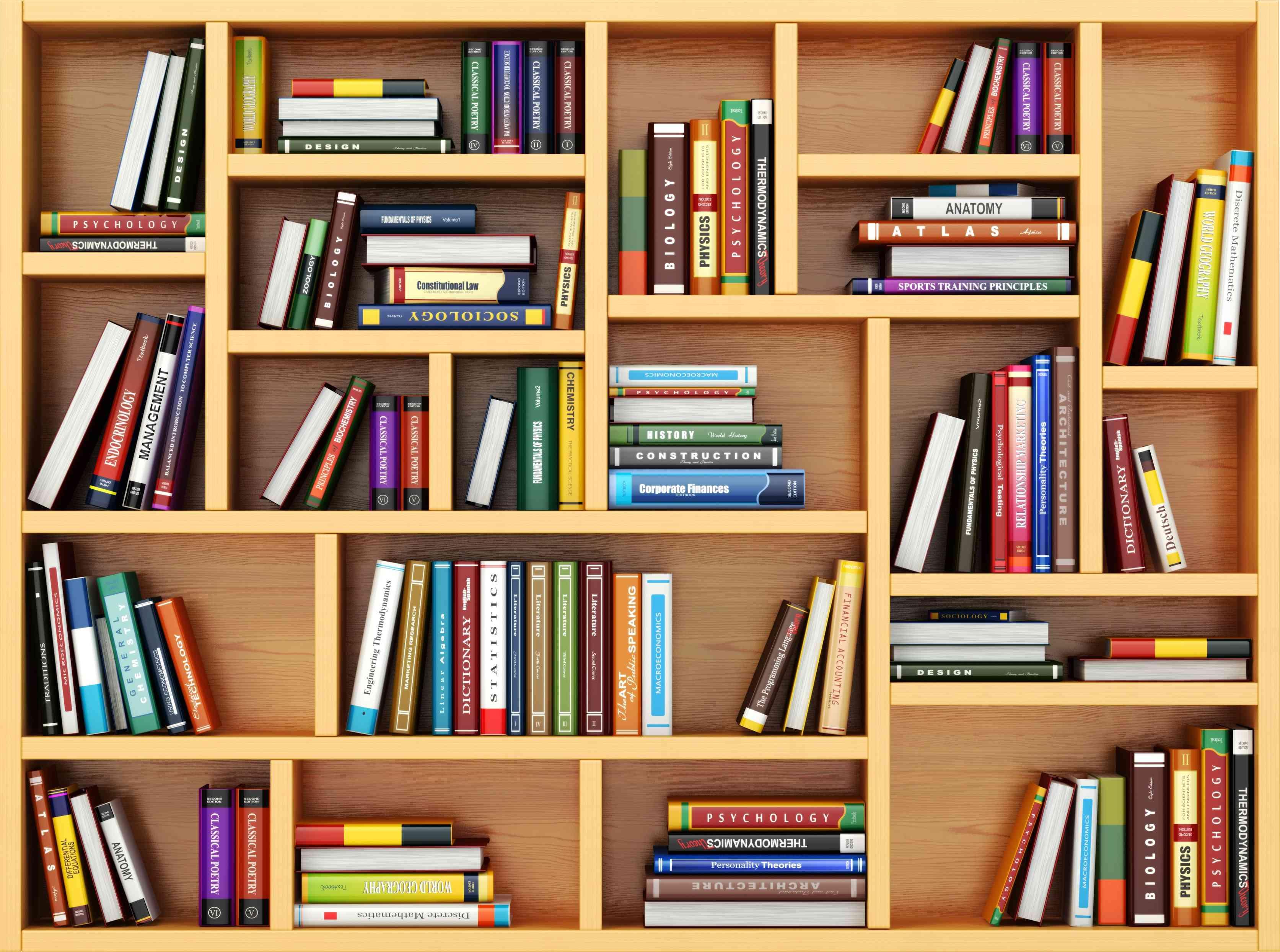 bookshelf for living room decoration