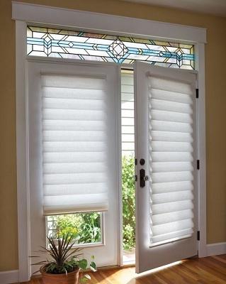 window blinds for living room decoration