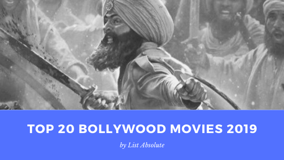Top 20 Bollywood Movies 2019
