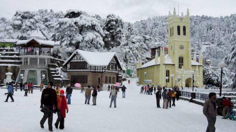 Shimla, Himachal Pradesh Hill Station