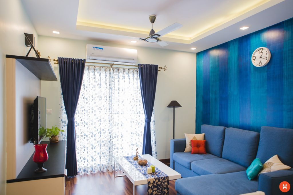 rooms are furnished