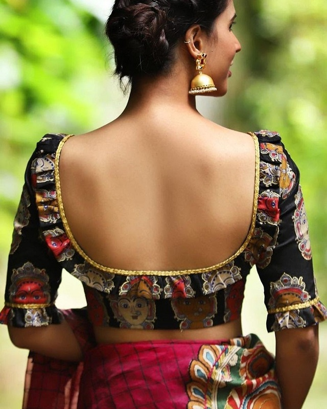 Frilled back