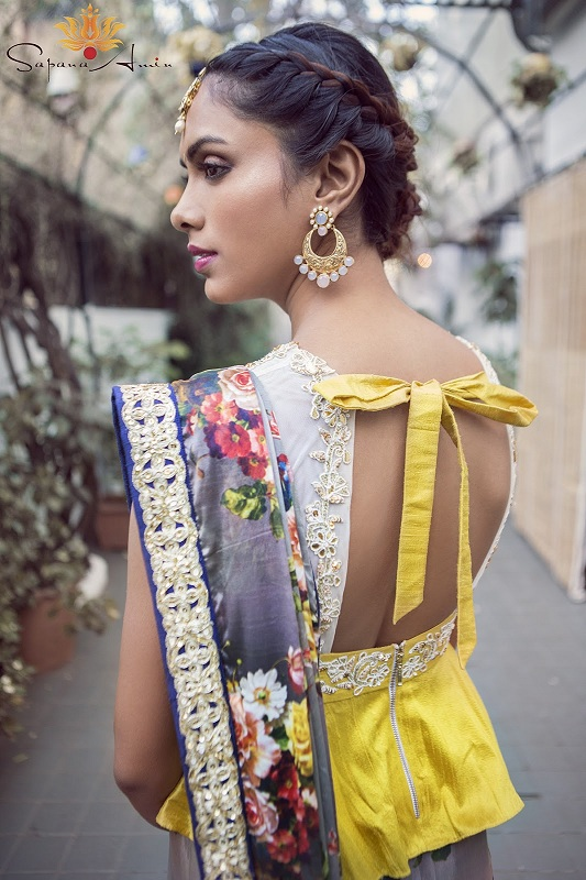 Knotted back style