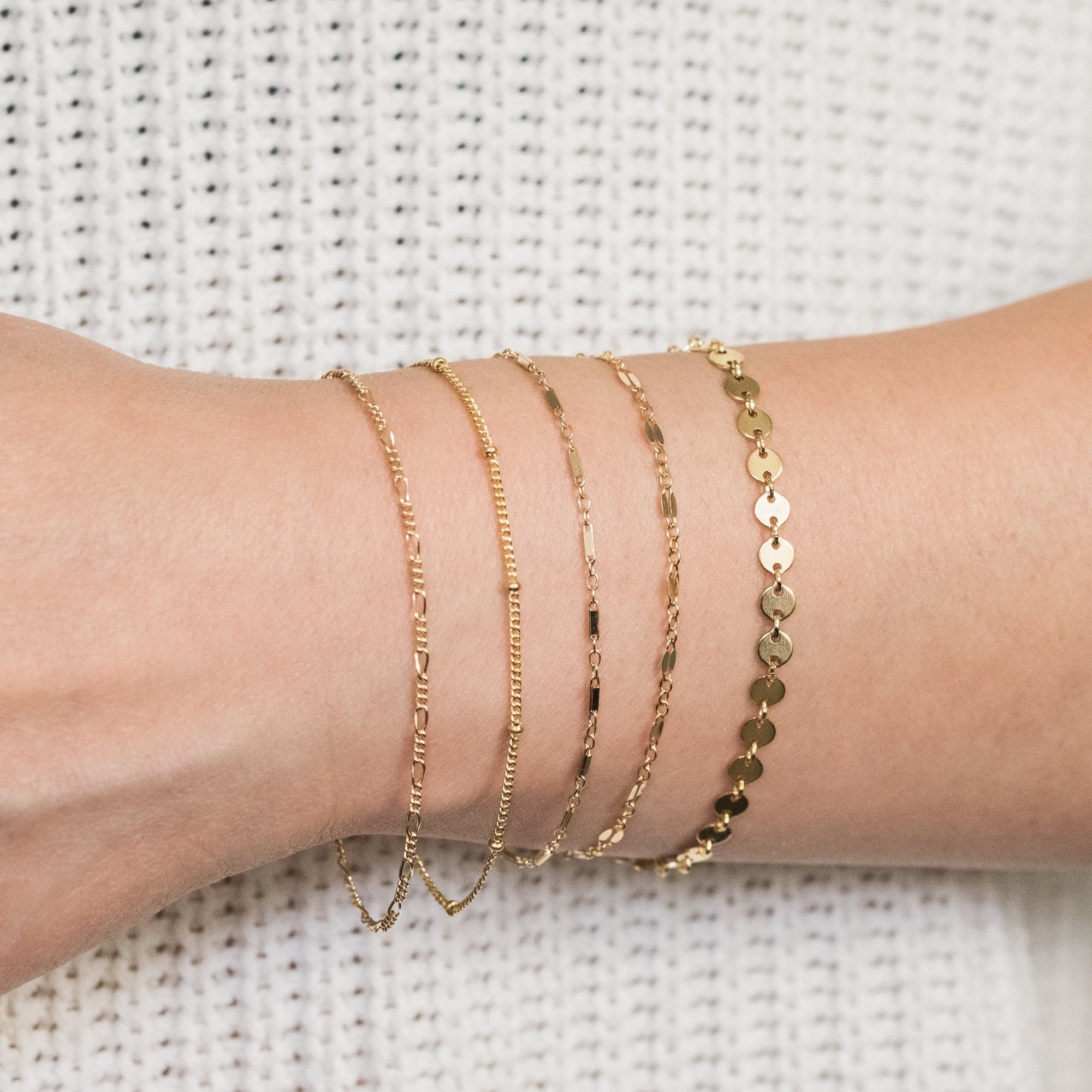 name day wishes-A bracelet or a dainty chain