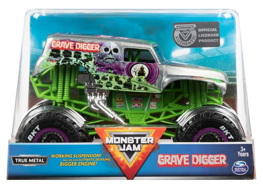 gifts for 9 year old boys-Spin monster truck car