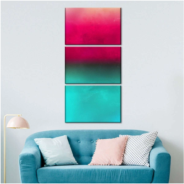 Ombre Shade on Wall